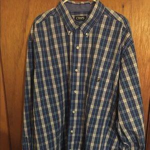 Men's Chaps long sleeve shirt.